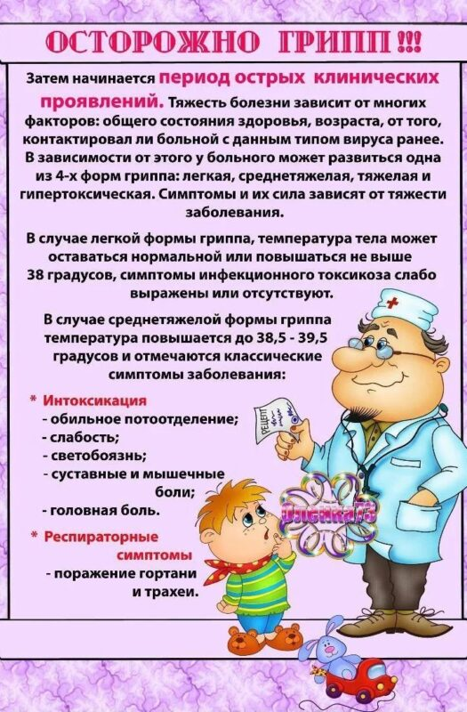 Профилактика ОРВИ