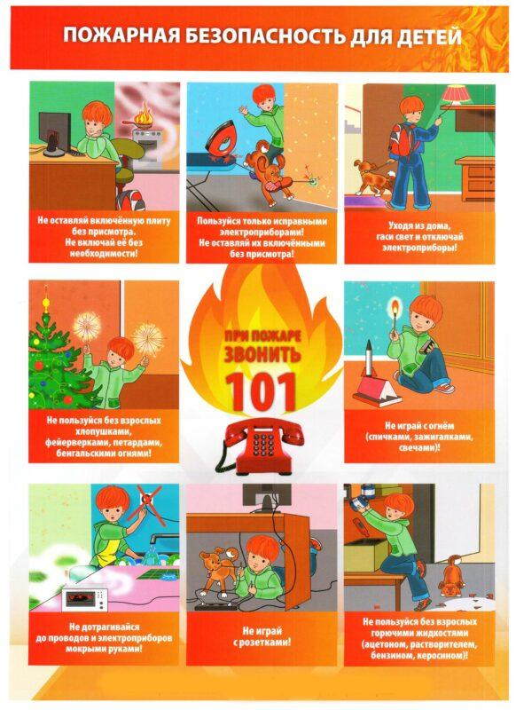 Противопожарная безопасность и профилактика детского травматизма дома
